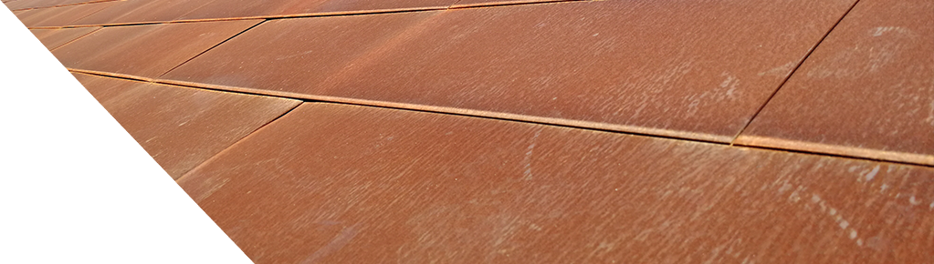New product in ACH Panels – Aço Corten panels